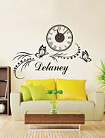 DIY Modern Butterfly Wall Clock