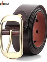 ALLFOND Men Party/Work/Casual Calfskin Buckle/Waist Belt PZK401106