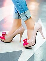 Women's Shoes  Stiletto Heel Heels/Closed Toe Pumps/Heels Dress Yellow/Green/Pink