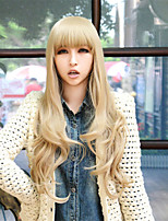 Japanese And Korean Fashion Cartoon Girl With Curly Hair Wig
