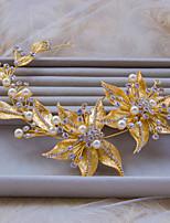Dame/Blomsterpige Rhinestone/Legering/Imitert Perle Headpiece Bryllup/Spesiell Leilighet/Utendørs PannebåndBryllup/Spesiell