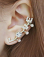 LOVE Letters Diamond Earrings
