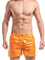 DESMIIT Men'sSuper Thin Solid Tide Pants Shorts At Home Leisure Sports G404
