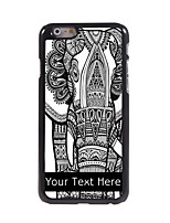 Personalized Gift The Elephant Design Aluminum Hard Case for iPhone 6