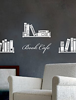 Wall Stickers Wall Decals, Modern Bookshelf PVC Wall Stickers
