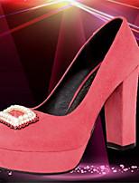 Women's Shoes Synthetic Kitten Heel Heels/Basic Pump/Pointed Toe Pumps/Heels Office & Career/Dress/Casual