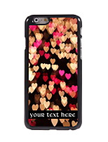 Personalized Gift Heart Design Aluminum Hard Case for iPhone 6
