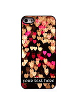 Personalized Gift Heart Design Aluminum Hard Case for iPhone 5/5S