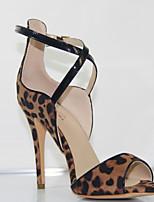 Women's Shoes high Heels Leopard sandals shoes