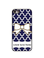 Personalized Gift Bowknot Design Aluminum Hard Case for iPhone 4/4S