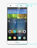 professionnel de haute transparence cristal lcd protecteur d'écran avec chiffon de nettoyage pour Huawei p8 mini-