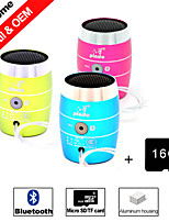Besteye® 16GB SD Card and M3 Mini Portable Bluetooth Wireless for Iphone/Samsung/PC/MP3 Aluminum Speaker