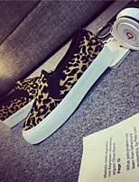 Scarpe Donna - Sneakers alla moda - Ufficio e lavoro / Casual - Creepers / Punta arrotondata - Piatto - Di corda - Giallo