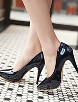 Women's Shoes  Stiletto Heel Heels/Closed Toe Pumps/Heels Dress Blue/Pink/Beige/Navy