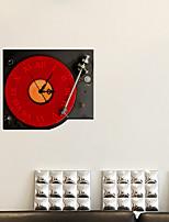 3d La decorazione musica decalcomanie adesivi murali della parete