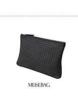 Korean Version of The Influx of European and American Fashion Woven Embossed Handbag Clutch  Messenger Shoulder Mini Bag