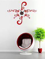 DIY Beautiful Flower Wall Clock