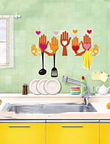 Multifunction Cloth Hanger & Wall Sticker/Hanger(4 hangers and a set of wall sticker)