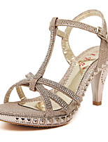 Women's Shoes Glitter Spool Heel Slingback Sandals Party More Colors available