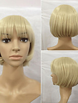 The European and American Fashion Girl Essential Wig Golden Detonation Model