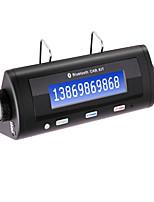 Bluetooth Car Kit w / Anruferidentifikation-Anzeige, Dual-Standby, automatisches Anschluss, Bluetooth-Freisprecheinrichtung