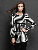 Fashion big yards fat ladies tops dinner party chiffon render show thin coat t-shirts, shirts
