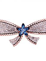 Women's Fashion Elegant Inlay Crystal Big Butterfly  Hairpin FMFJ0014