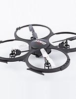 udir / c u818a 2.4G 4ch 6 as rc quadcopter één sleutel 3d flip 2.4G 4ch 6axis helikopter