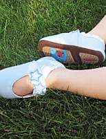Baby girls Shoes Dress/Casual toddlers Suede Mary Jane Flats Blue