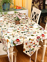 Pastoral Style High Quality Floral Printing Table Runner (13