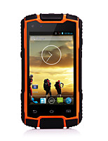 Smartphone 3G ( 4.0 , Quad Core DG1Plus( water/dust/shock-proof/walkie-talkie/quad core/android 4.4/2800mAh/Dual camera))