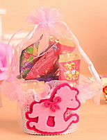 New Style Wedding Favor Candy Bag with Little Horse  Set of 12