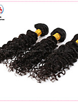 3 Bundles Deep Curly Good Quality Factory Price Brazilian Virgin Human Hair Weft