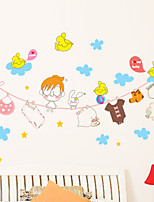 Wall Stickers Wall Decals Style Fantasy Sky PVC Wall Stickers
