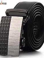 ALLFOND Men Party/Work/Casual Alloy/Leather Calfskin Waist Belt PZD4041-15