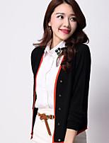 YINGYIYANG® Women's Korean Long Sleeve Fit Gems Bump Color Long Sleeve Sunscreen Cardigan Knitwear