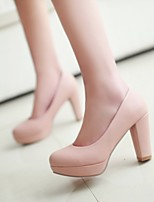 Women's Shoes  Stiletto Heel Heels Pumps/Heels Office & Career/Dress Black/Blue/Pink/Purple/White