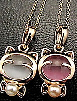 Sweet (Animal Pendant) Gold Alloy Pendant Necklace