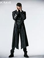 PUNK RAVE Y-364 Men's Casual Pure Long Sleeve Long Jacket