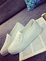 Scarpe Donna - Sneakers alla moda - Ufficio e lavoro / Casual / Sportivo - Creepers / Punta arrotondata - Piatto - Di corda - Bianco