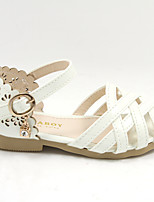 Girls' Shoes Casual Round Toe Flats White