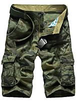 Men's Shorts , Casual/Plus Sizes Print Cotton