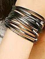 Unisex Multi-layers Leather Bracelet