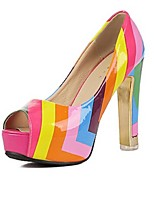 Women's Shoes Platform Peep Toe/Platform Pumps/Heels Casual Multi-color