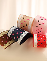 Gorgeous Printed Polyester Grosgrain Ribbon (More Colors)