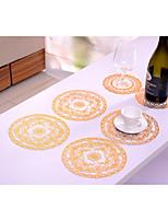 Vente en gros 20pcs isolation PVC anti-dérapage salle à manger napperon 11.4inch