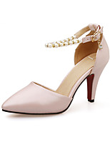 Women's Shoes  Stiletto Heel Pointed Toe Pumps/Heels Office & Career/Dress Blue/Pink/White