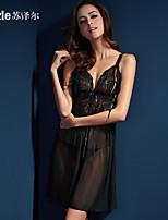 Suzlle summer ladies XL taste high-grade lace corset sexy nightgown underwear