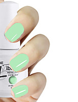 LIBEINE 1pc Soak Off 15 ML UV Gel Nail Polish Color Gel Polish 011# Mint Ice-cream