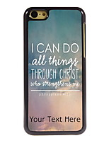 Personalized Gift I CAN DO Design Aluminum Hard Case for iPhone 5C